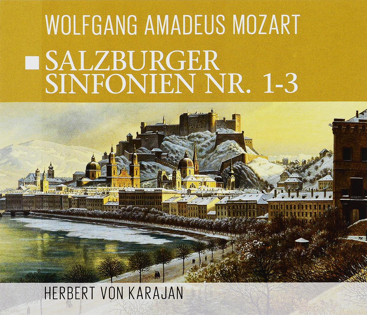 лучшая цена Herbert Von Karajan. Wolfgang Amadeus Mozart. Salzburger Sinfonien Nr. 1-3