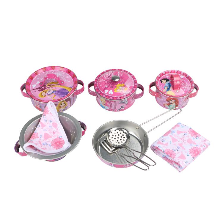 Disney Игрушечный набор посуды Королевский ужин disney набор чайной посуды королевское чаепитие 14 предм металл принцессы дисней