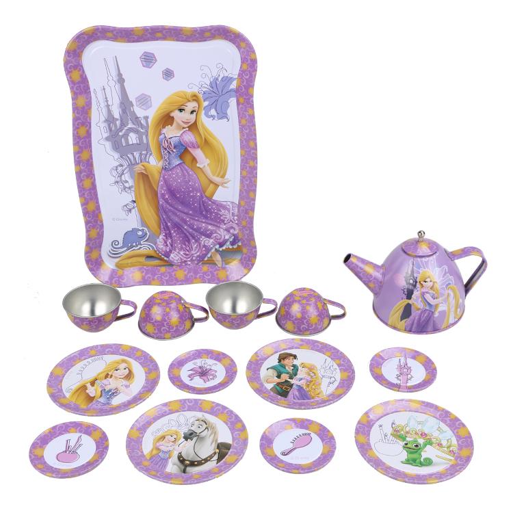 Disney Игрушечный набор посуды Принцесса Рапунцель disney набор чайной посуды королевское чаепитие 14 предм металл принцессы дисней