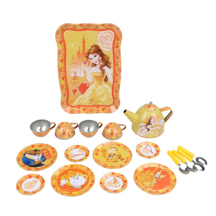 Disney Игрушечный набор посуды Принцесса Белль disney набор чайной посуды королевское чаепитие 14 предм металл принцессы дисней