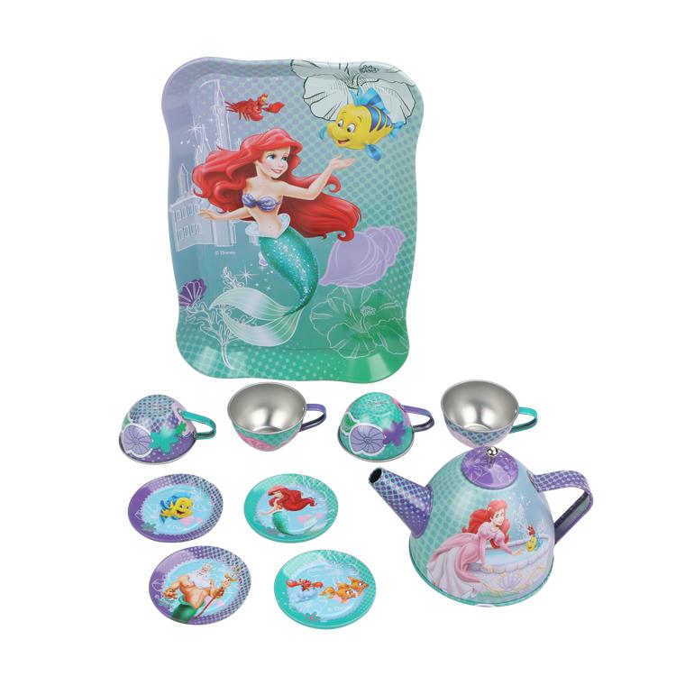 Disney Игровой набор детской посуды Принцесса Ариэль