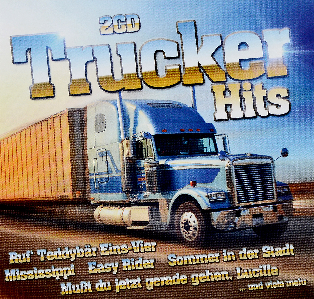 Trucker Hits (2 CD) slade wall of hits cd