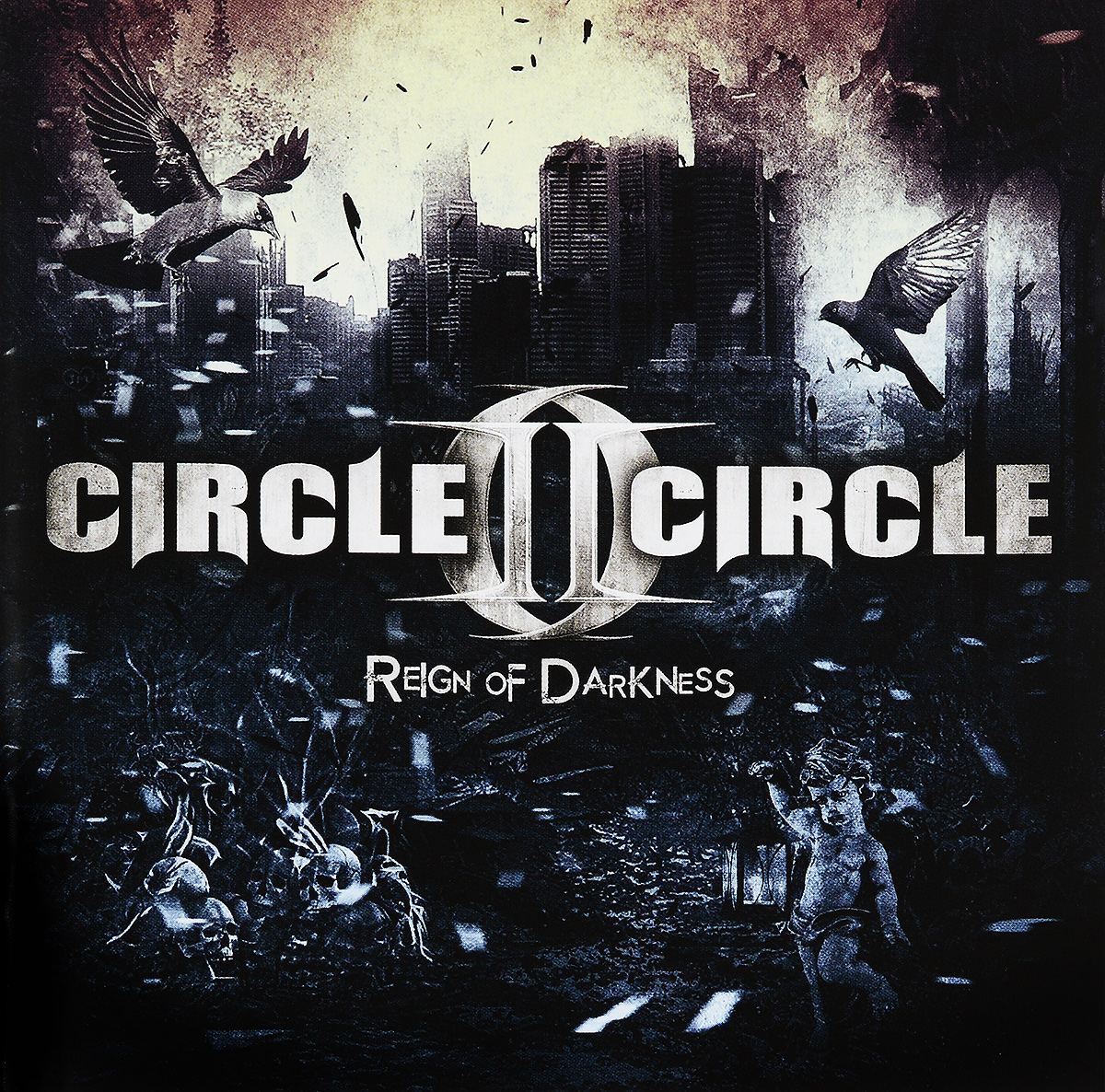Circle II Circle Circle Ii Circle. Reign Of Darkness alloy circle ball bead earrings