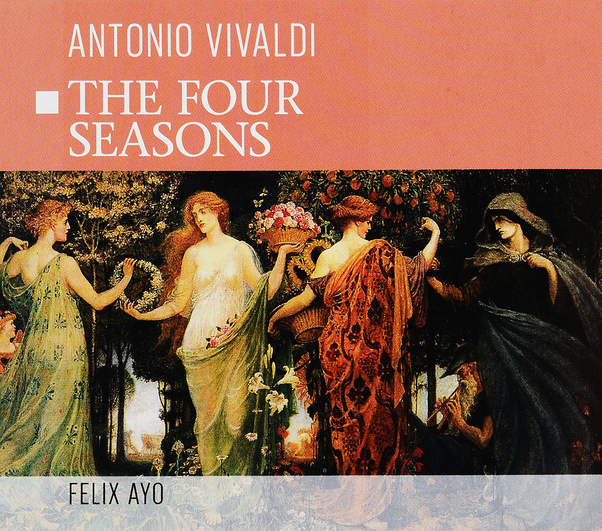 Antonio Vivaldi. The Four Seasons vivaldi vivalditrevor pinnock the four seasons