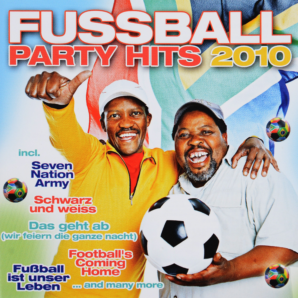 Fussball Party Hits (2 CD)