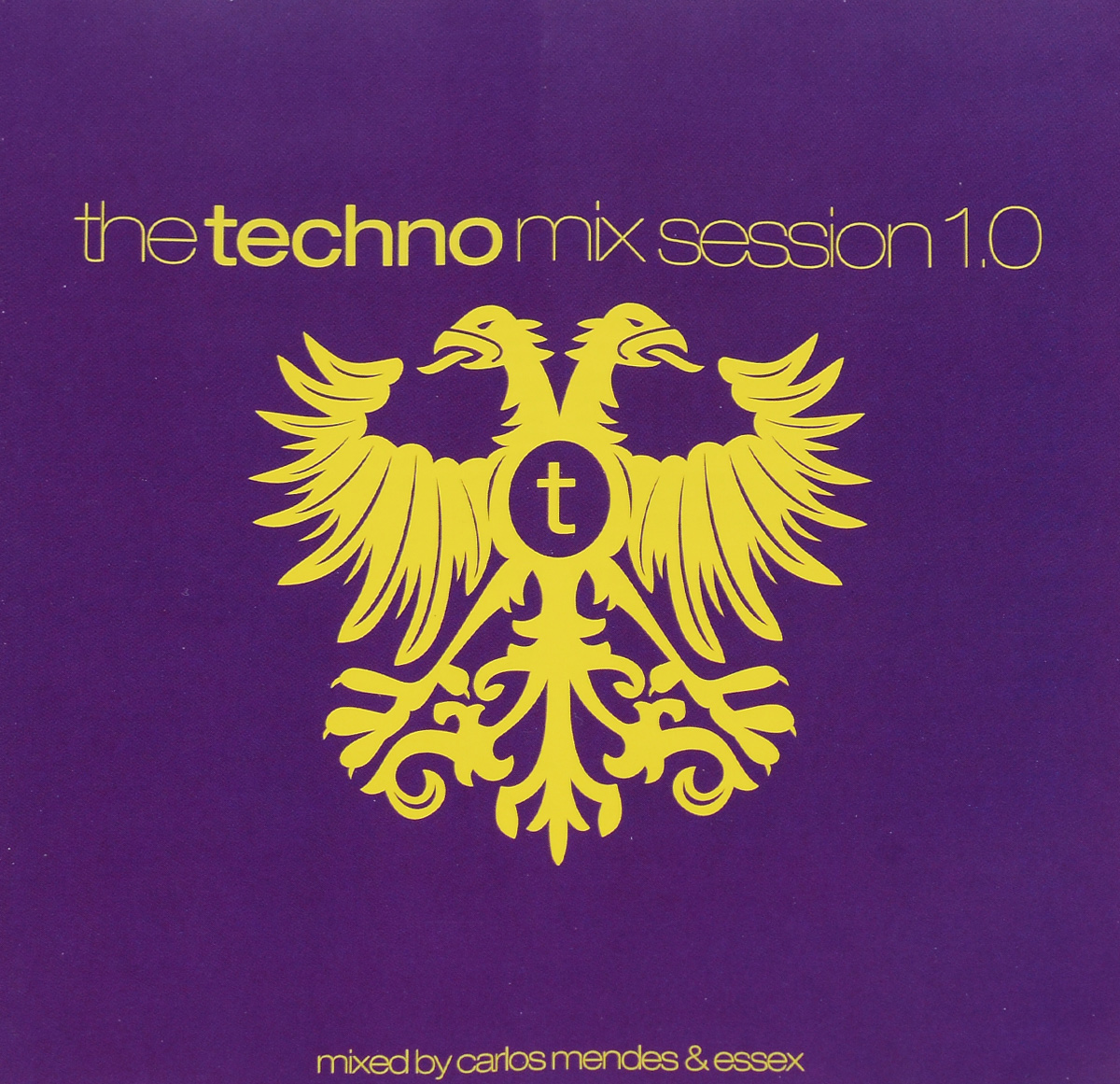 Мендес Луис Карлос,Essex,Себастьян Гневков,Фил Фулднер,Мартин Доусон,Nudisco,Dj Sin Plomo The Techno Mix Session 1.0 (2 CD)