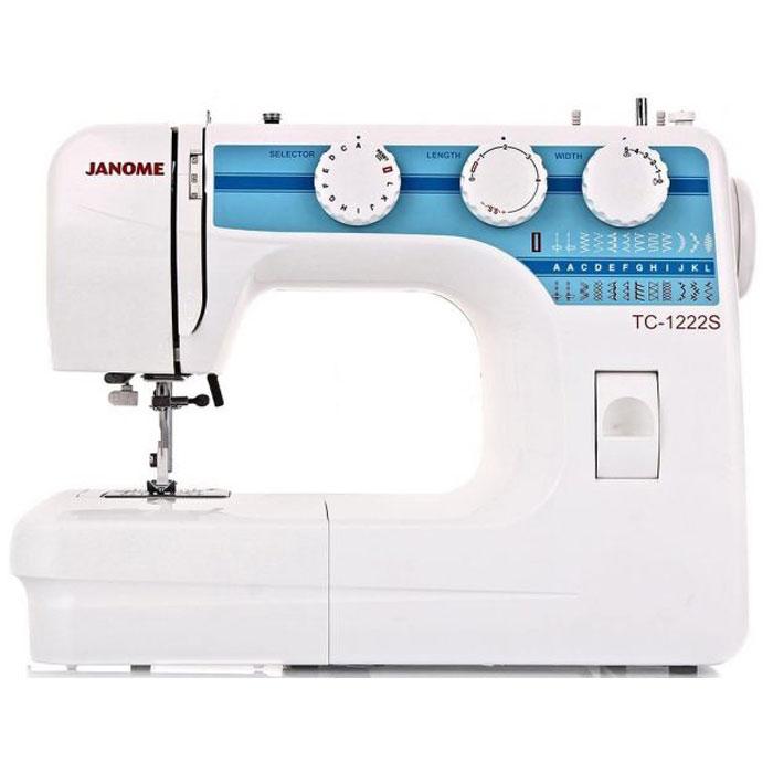 Швейная машина Janome TC 1222 S все цены