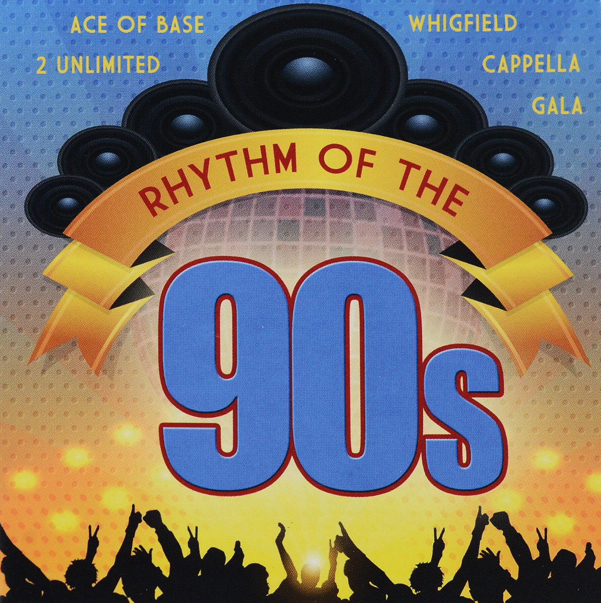 Corona,2 Unlimited,Ace Of Base,Gala,Ice Mc,Whigfield,Prezioso,Энн Ли,49ers,Urban Cookie Collective Rhythm Of The 90s (2 CD) цена