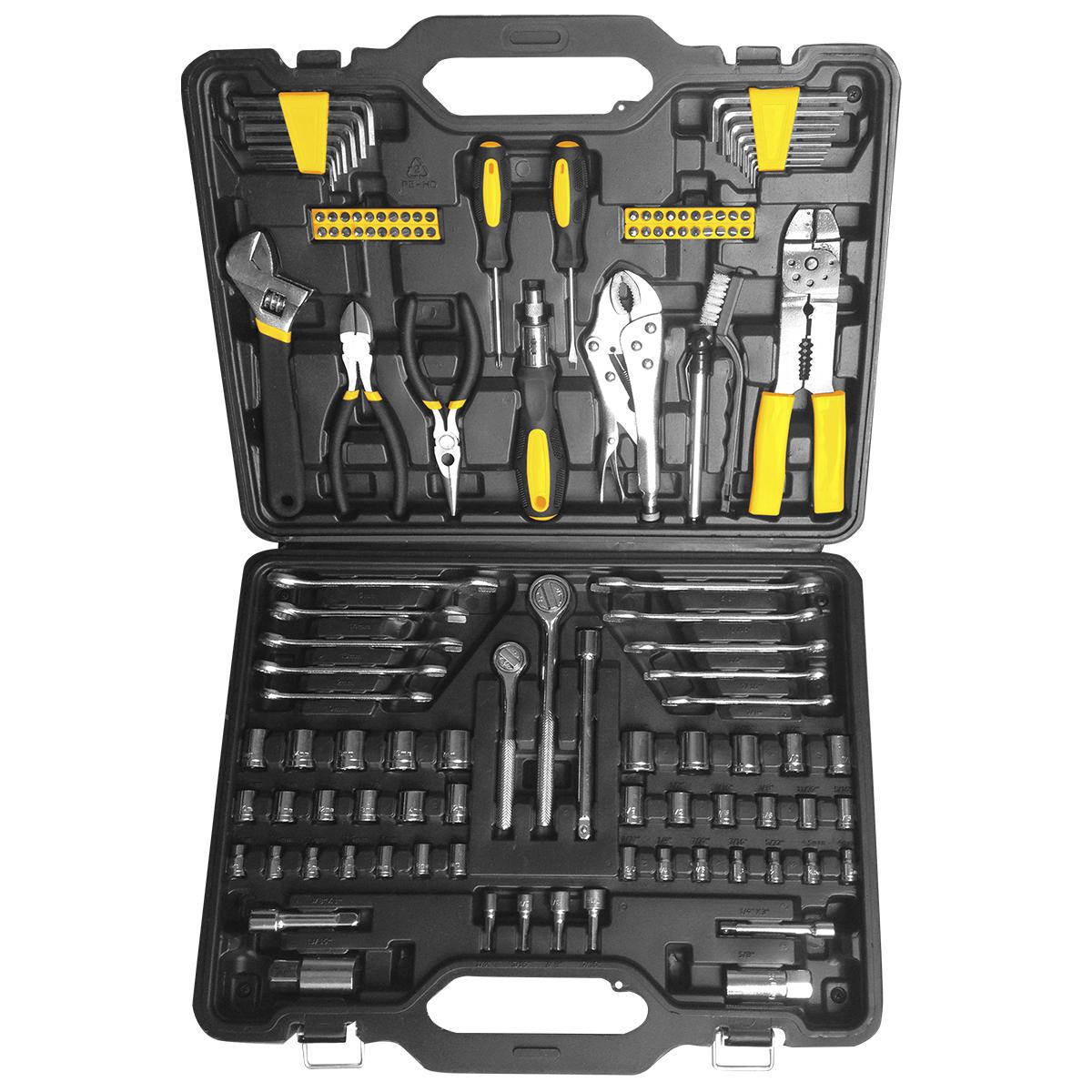 Набор инструментов Kolner KTS, 123 предмета аккумуляторная отвертка kolner kcsd 4 8 кн4 8