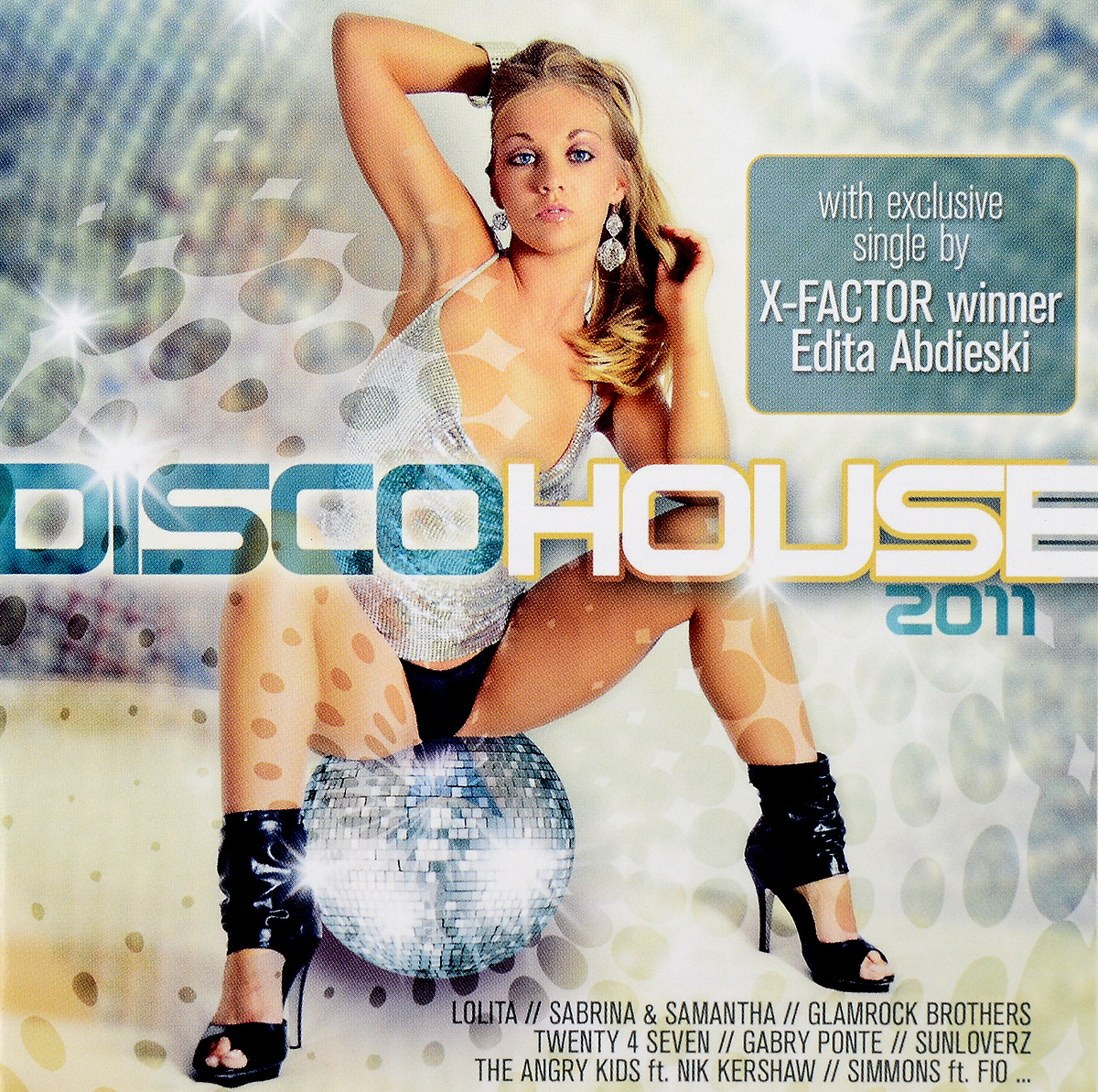 Lolita,House-Maxx,The Angry Kids,Ник Кершоу,Gabry Ponte,Кристиан Марчи,Оскар Сальжуэро,Рокфорд Крис,Gina M. Brown,Сабрина Салерно,Santiago Cortes,Manuel Baccano,Disco Deejays,Discotronix,Richtberg & Wojkowski,Sunloverz,Skreatch,Крис Галмон,Pronto,Eiffel 65 Disco House 2011 (2 CD) deutscher disco fox 2011 2 cd