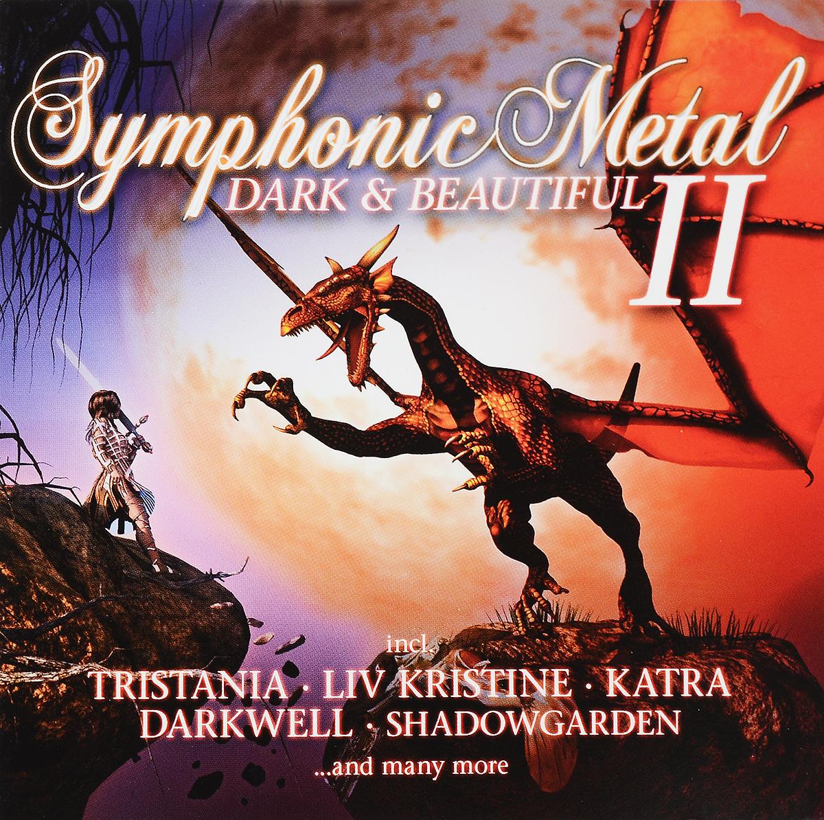 Symphonic Metal. Dark & Beautiful 2 (2 CD) symphonic metal dark