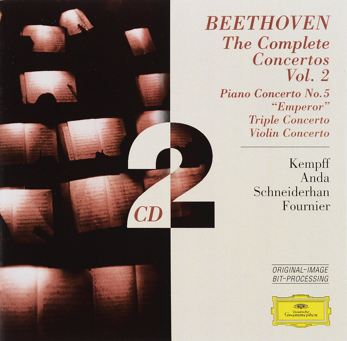 Beethoven. The Complete Concertos. Volume 2 beethoven the complete concertos volume 2