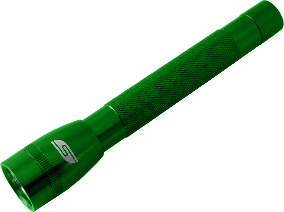 Фонарь SolarisF-5, ручной, цвет: зеленый