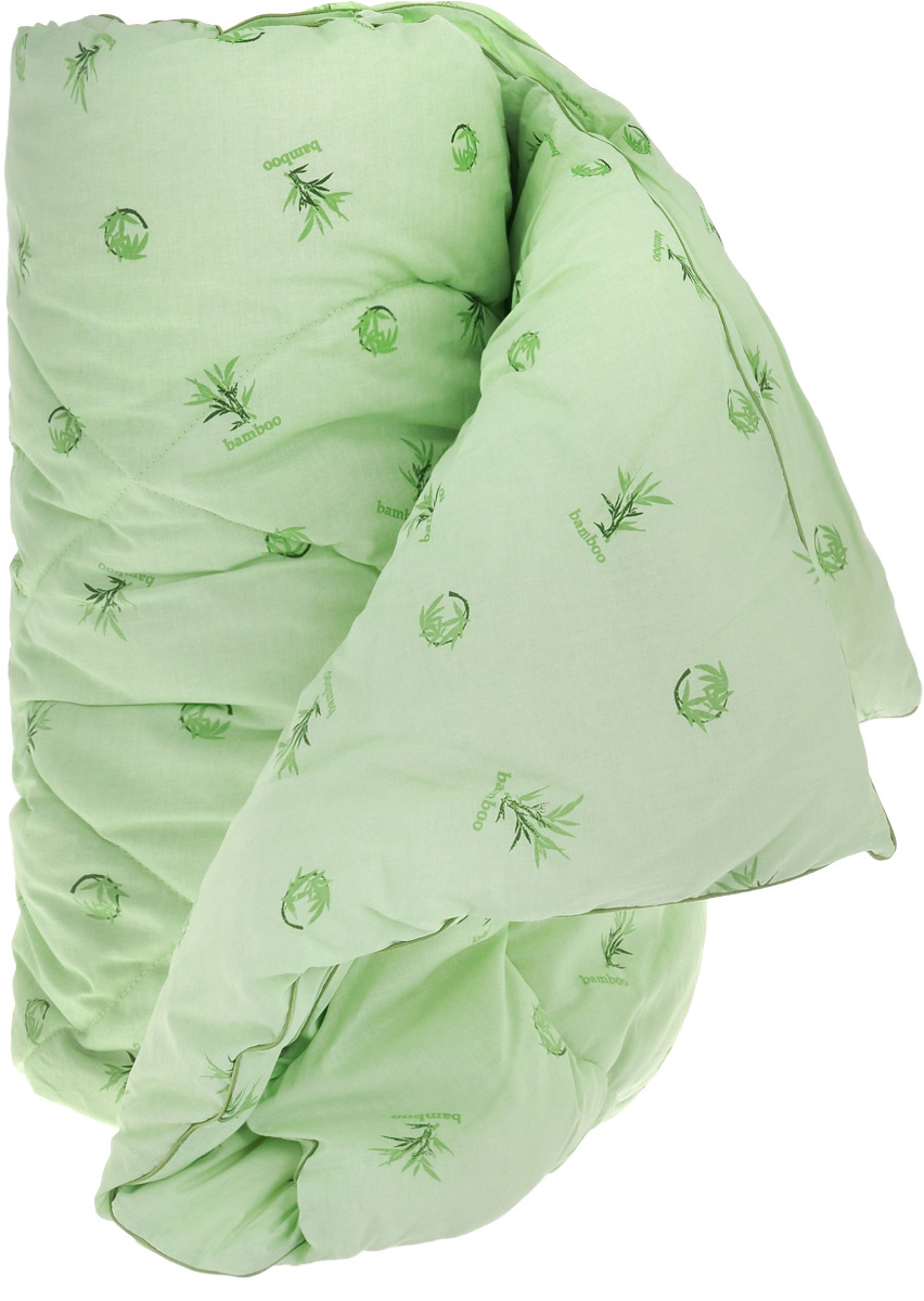 """Одеяло легкое Легкие сны """"Бамбук"""", наполнитель: бамбуковое волокно, 172 x 205"""