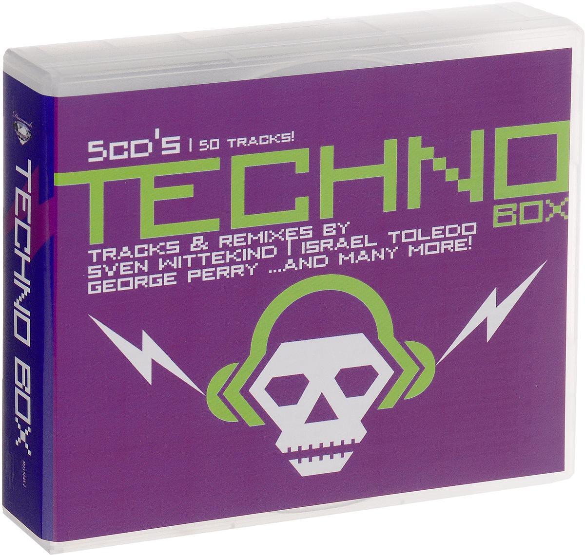 Diamonds. Techno Box (5 CD) techno 5