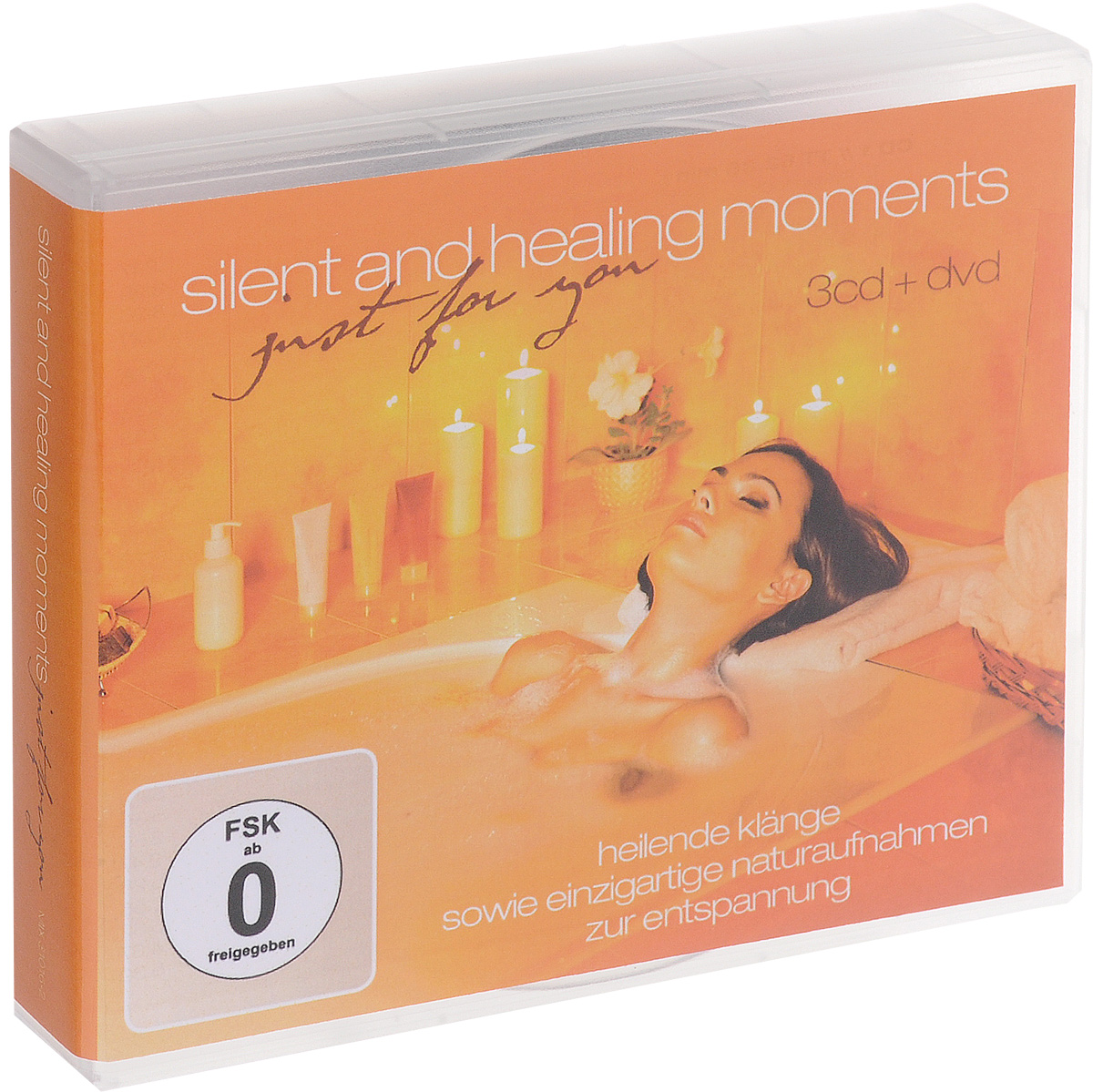 Vocal Cosmos Silent And Healing Moments Just For You (3 CD + DVD) цена