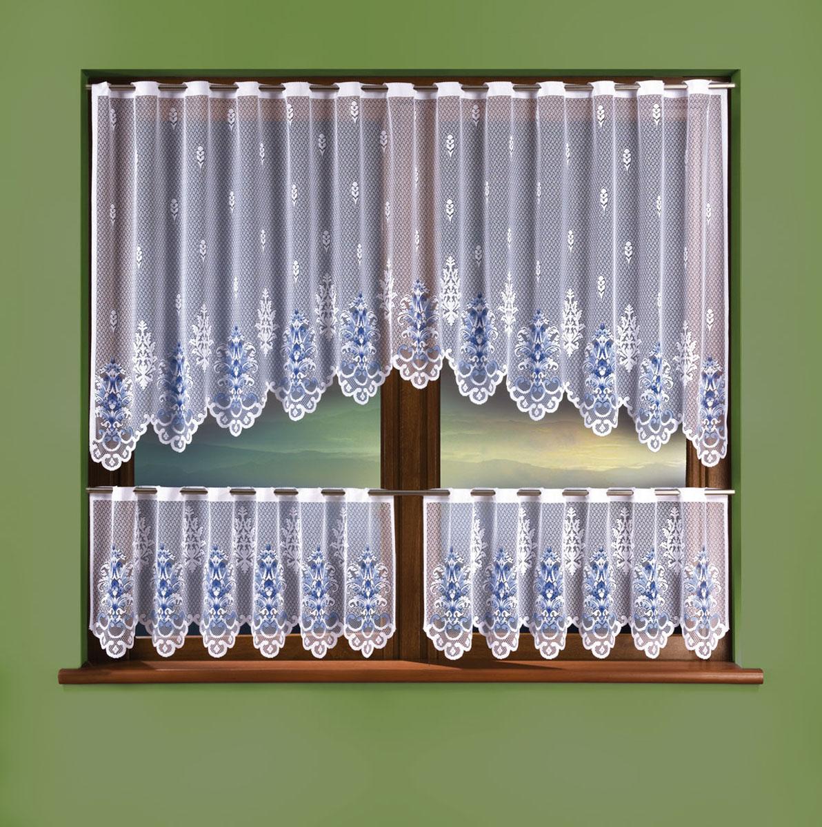 Комплект штор для кухни Wisan, высота 50 см комплект штор wisan цвет коричневый высота 250 см 030w