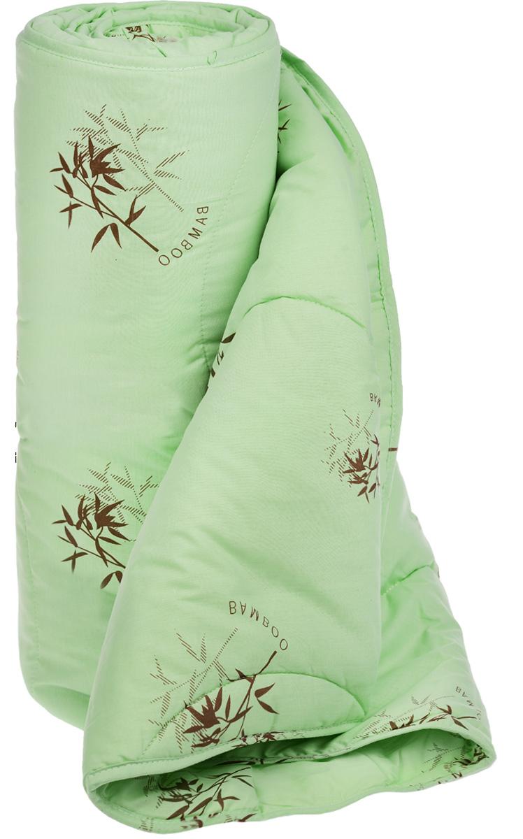 """Одеяло легкое Легкие сны """"Бамбук"""", наполнитель: бамбуковое волокно, 140 х 205 см"""