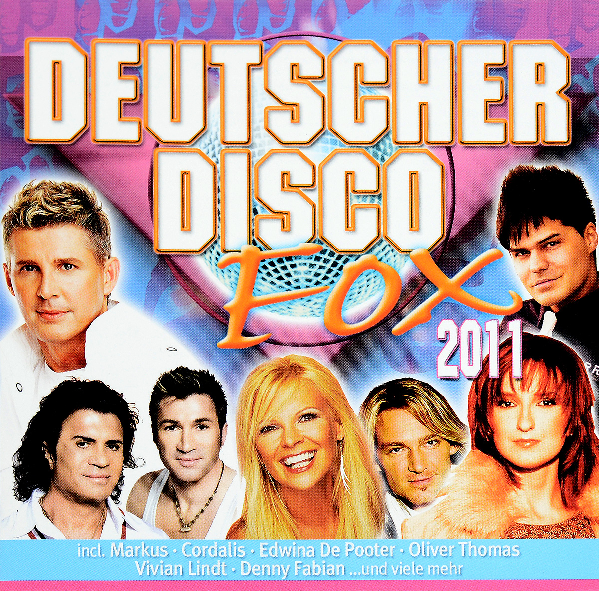 Deutscher Disco Fox 2011 (2 CD) цена 2017