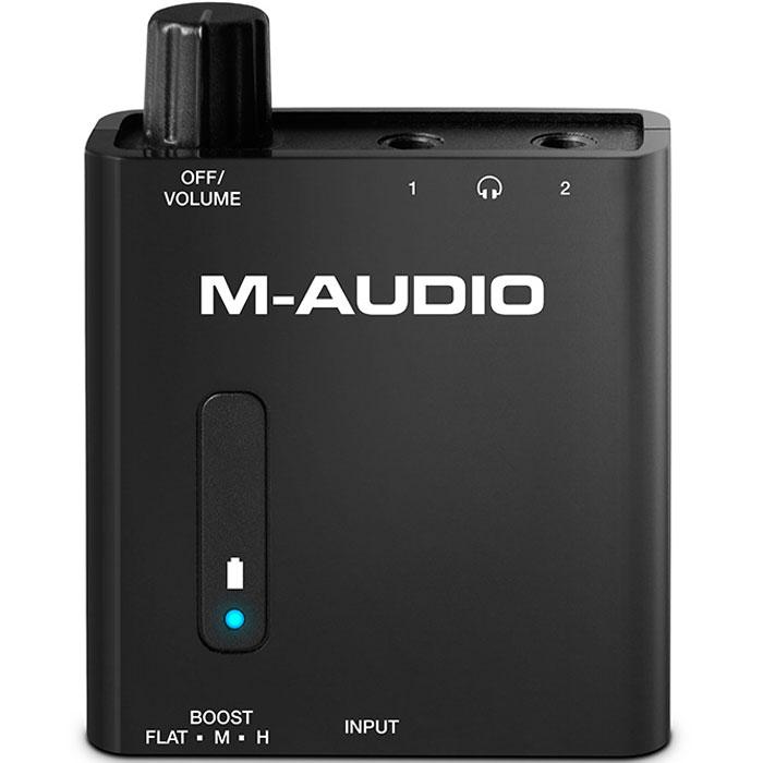 M-Audio Bass Traveler, Black портативный усилитель для наушников ламповый усилитель для наушников cary audio design hh 1 black