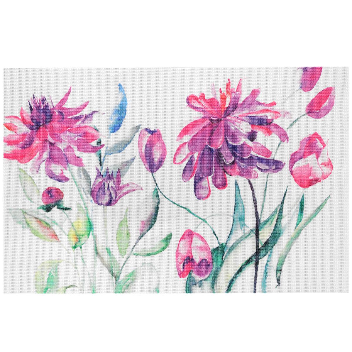 цена на Подставка под горячее Hans & Gretchen Весенние цветы, 45 х 30 см. 28HZ-9011