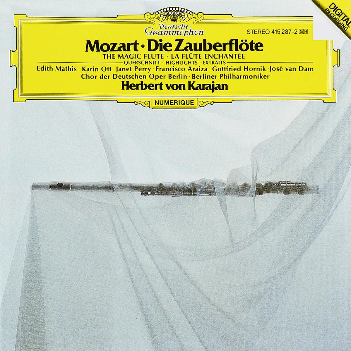 Mozart: Die Zauberflote - Querrschnitt Herbert von Karajan цена