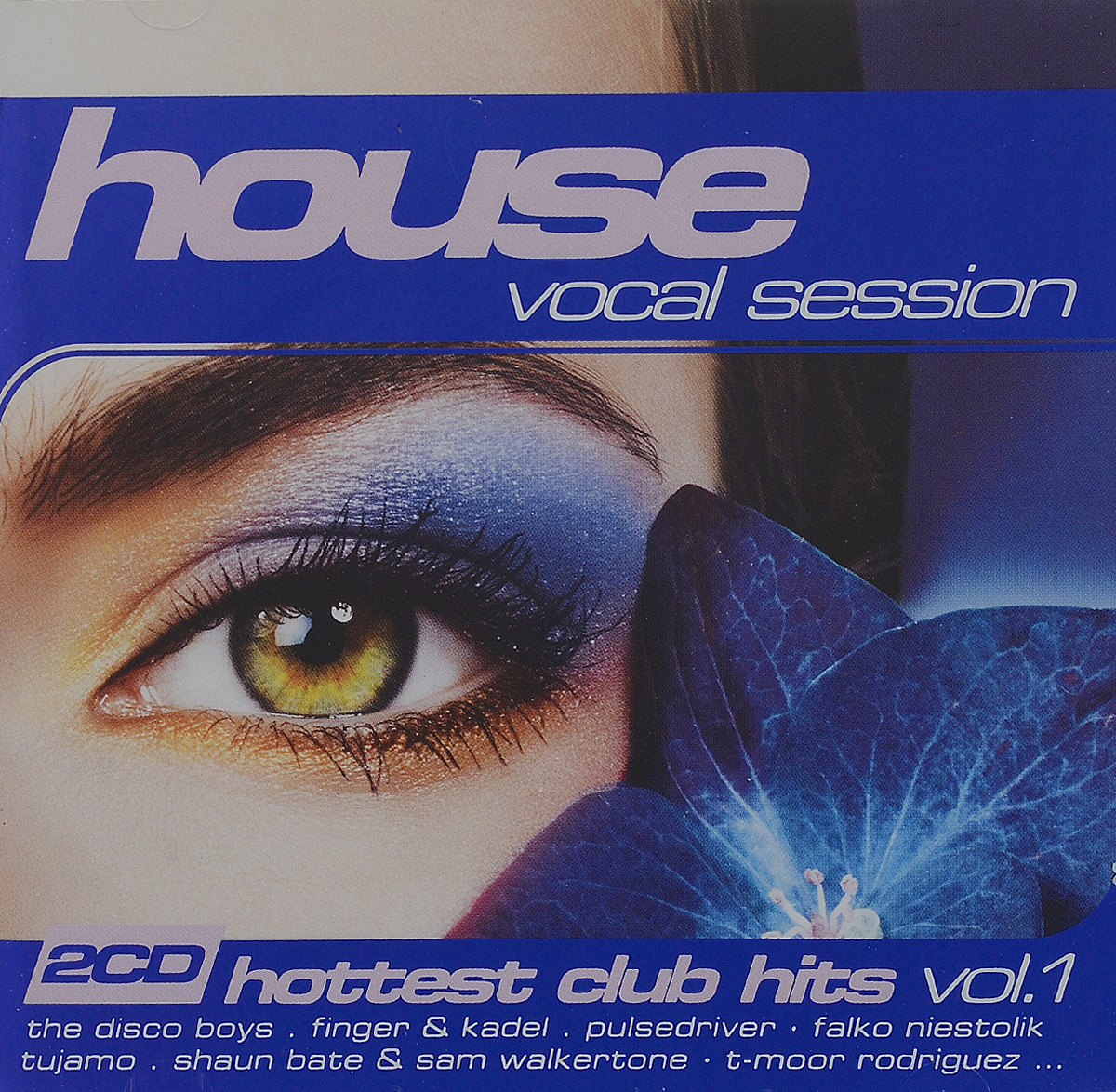 цена House Vocal Session Hottest Club Hits Vol.1 (2CD) онлайн в 2017 году