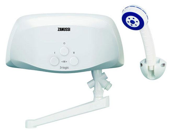 Zanussi 3-logic 3.5 TS водонагреватель проточный (душ+кран)
