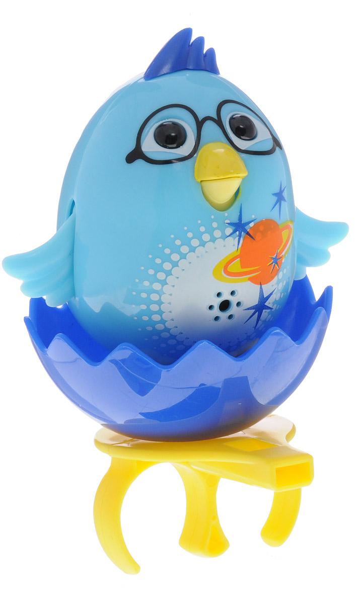 DigiBirds Интерактивная игрушка Цыпленок с кольцом цвет голубой