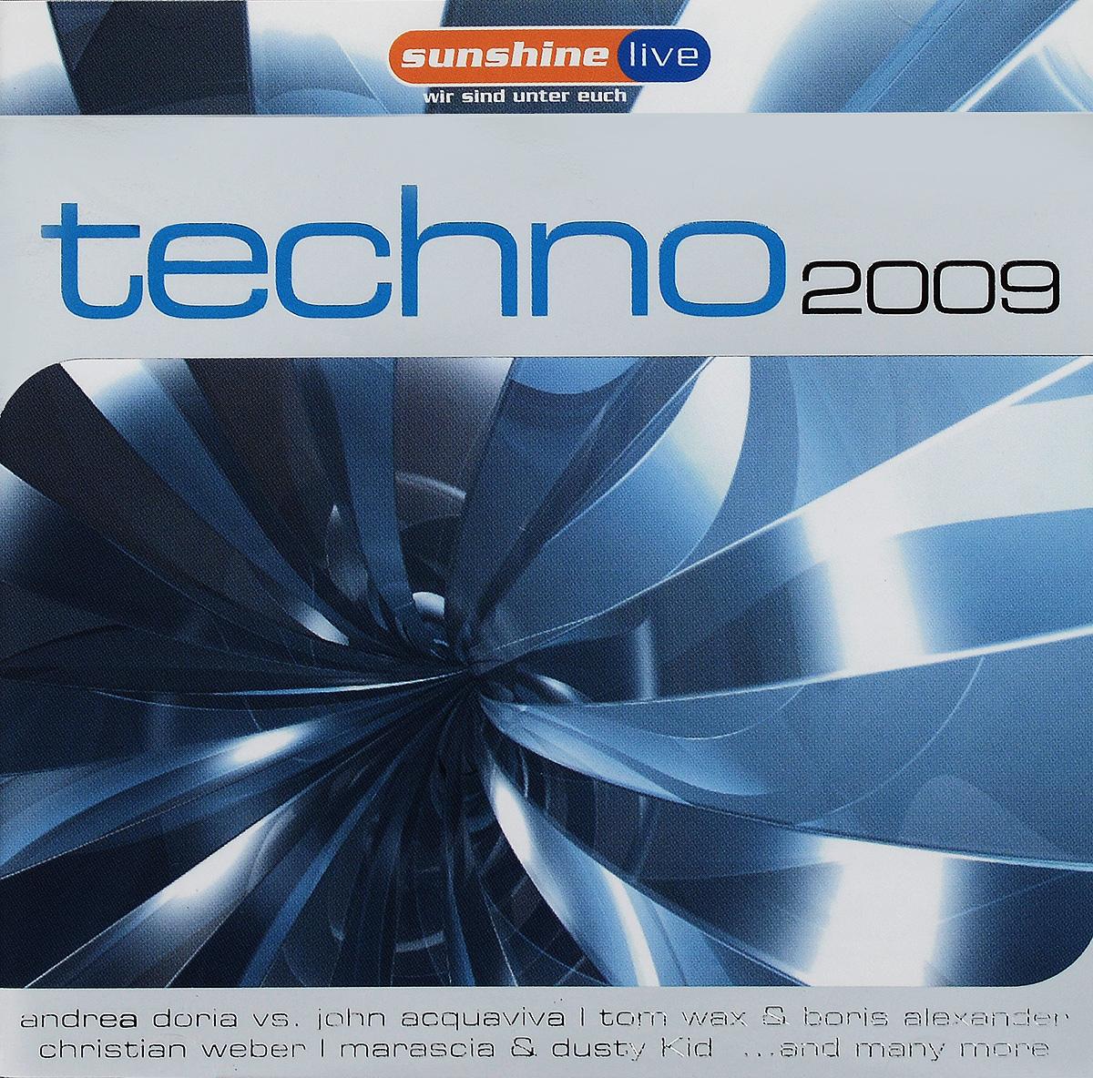 Techno 2009 (2 CD)