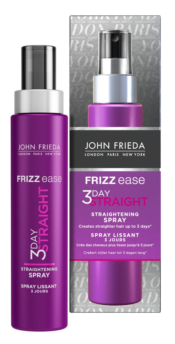 John Frieda Frizz-Ease 3 Day Straight Выпрямляющий моделирующий спрей для волос длительного действия, 100 мл frizz ease выпрямляющий моделирующий спрей для волос длительного действия 100 мл