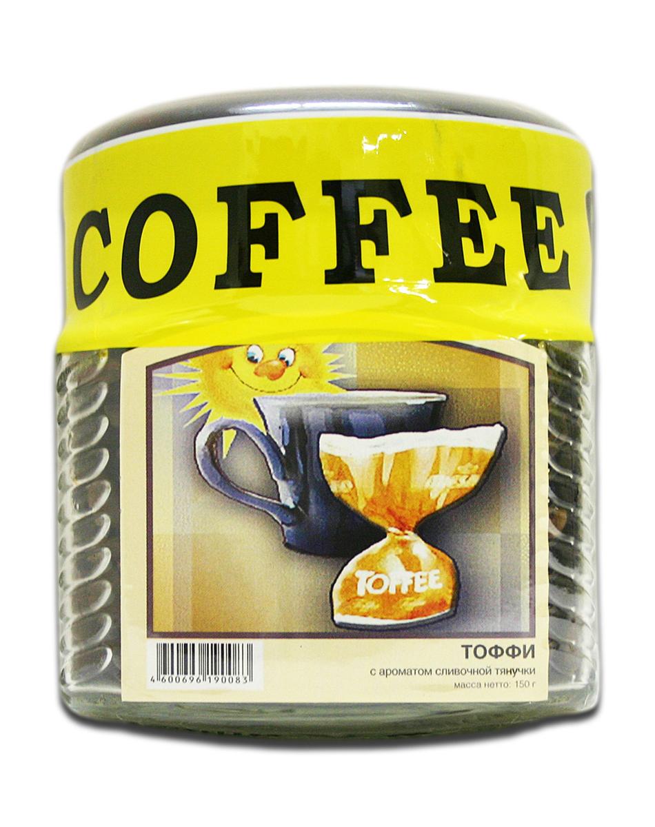 цены на Блюз Ароматизированный Тоффи кофе в зернах, 150 г (банка)  в интернет-магазинах