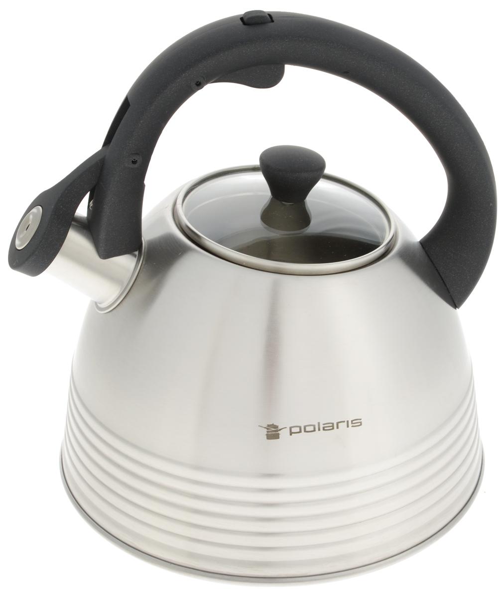 Чайник Polaris Classica, со свистком, 3 л чайник на плиту polaris classica 3l
