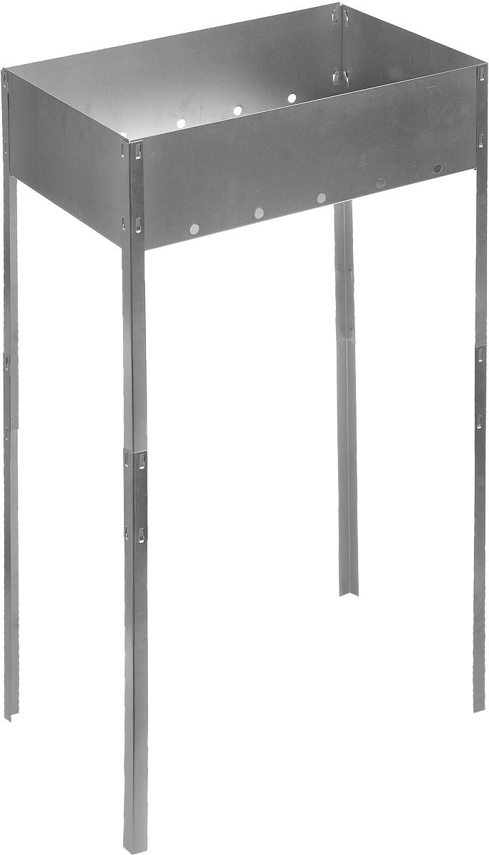 Мангал складной RoyalGrill, на длинных ножках, 50 х 30 х 85 см цена