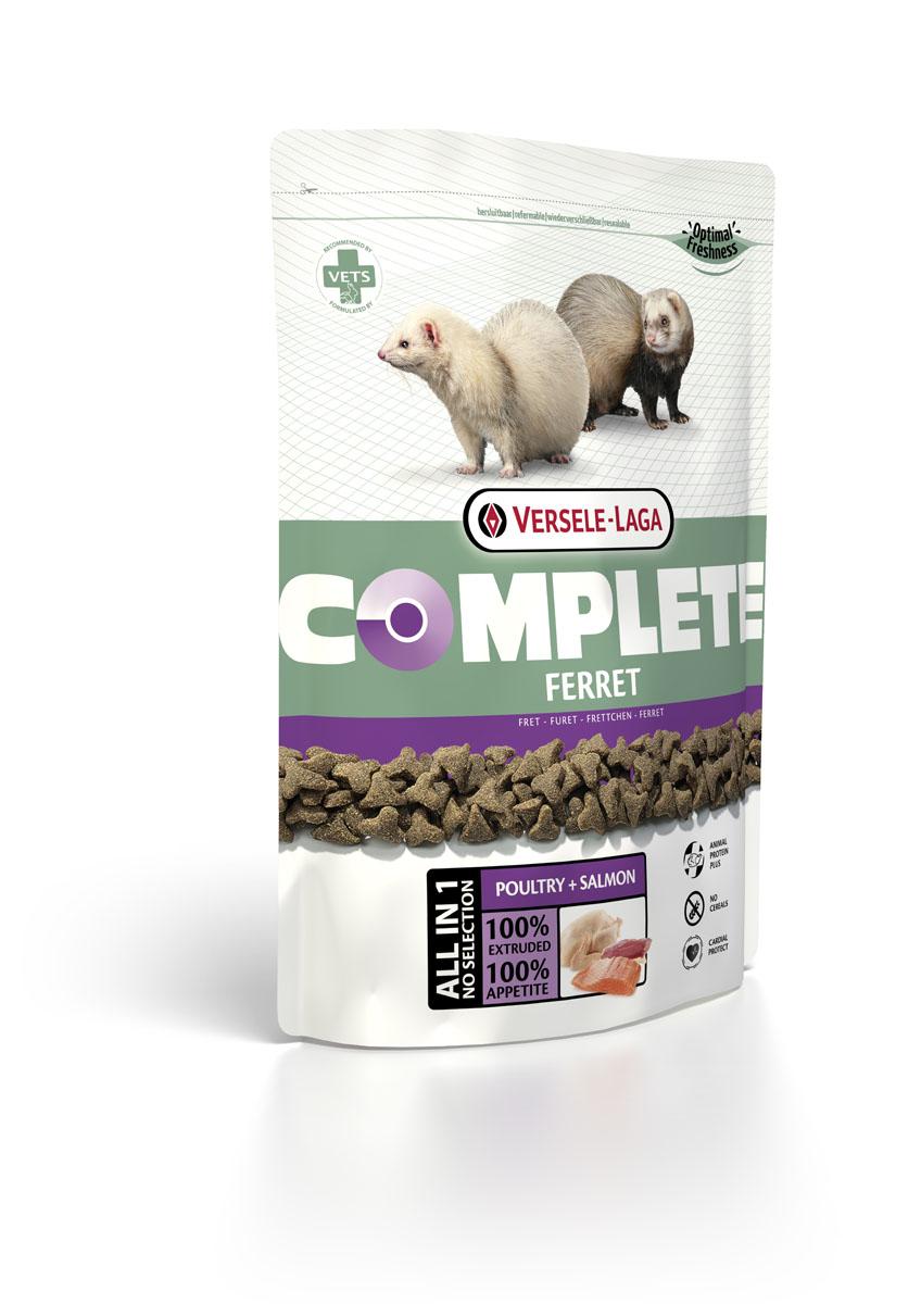 Корм для хорьков Versele-Laga Complete Ferret, 750 г корм для хорьков versele laga complete ferret 750 г