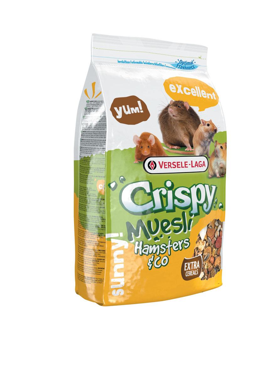 "Корм для хомяков и других грызунов Versele-Laga ""Crispy Muesli Hamsters & Co"", 400 г"