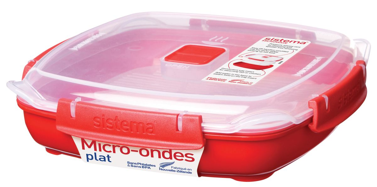 Контейнер пищевой Sistema 1105, красный цены онлайн