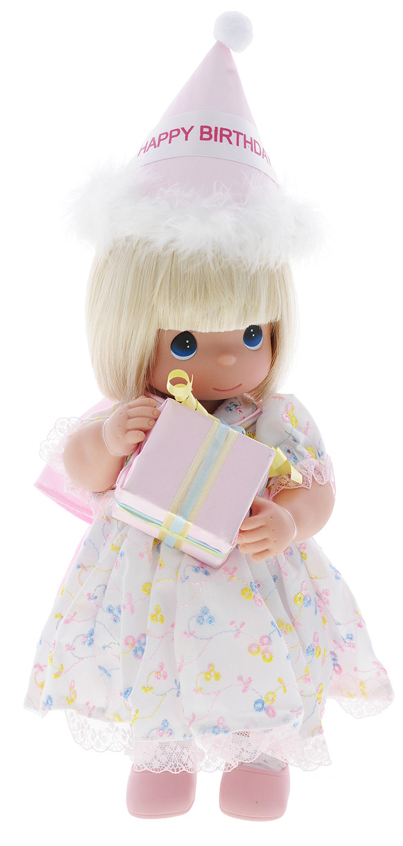 куклы и одежда для кукол precious кукла мир и гармония 30 см Precious Moments Кукла С Днем Рождения блондинка
