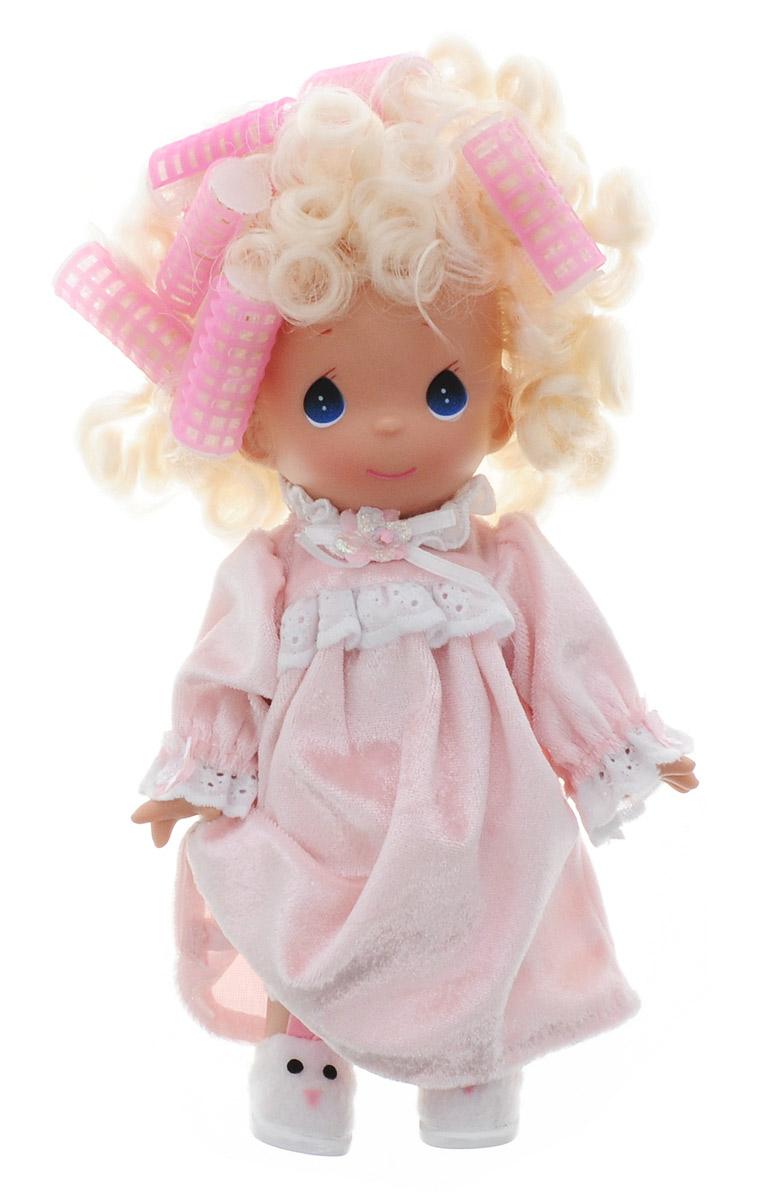 куклы и одежда для кукол precious кукла мир и гармония 30 см Precious Moments Кукла в бигудях