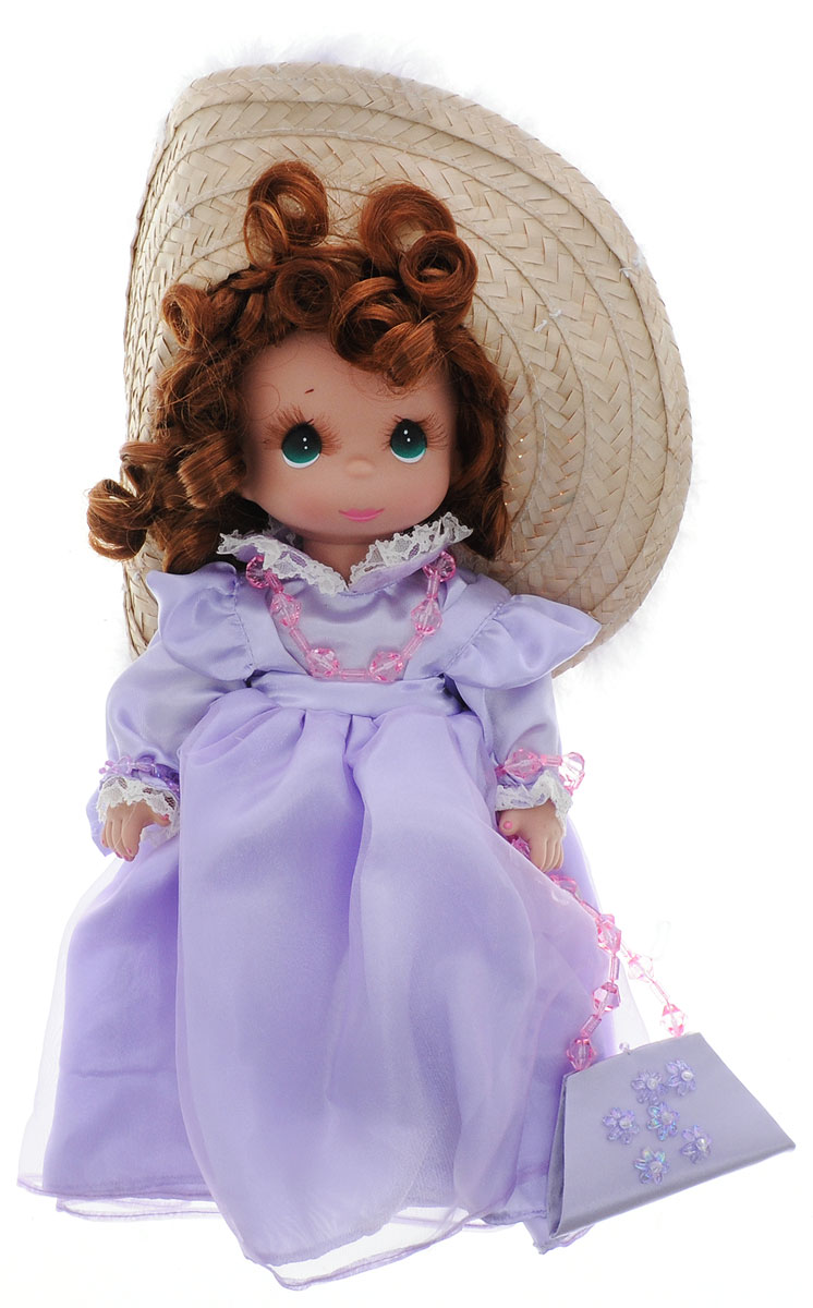 Precious Moments Кукла Гламурная девушка цвет волос рыжий