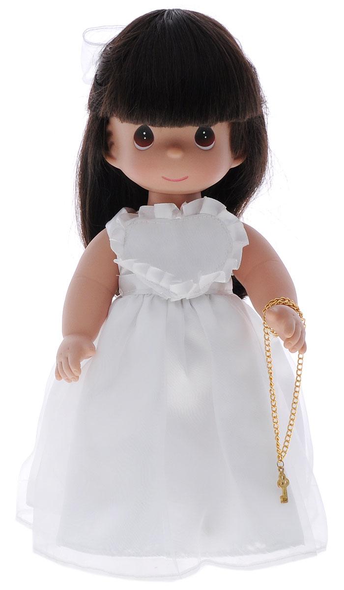 Precious Moments Кукла Ключ к моему сердцу цвет волос темный