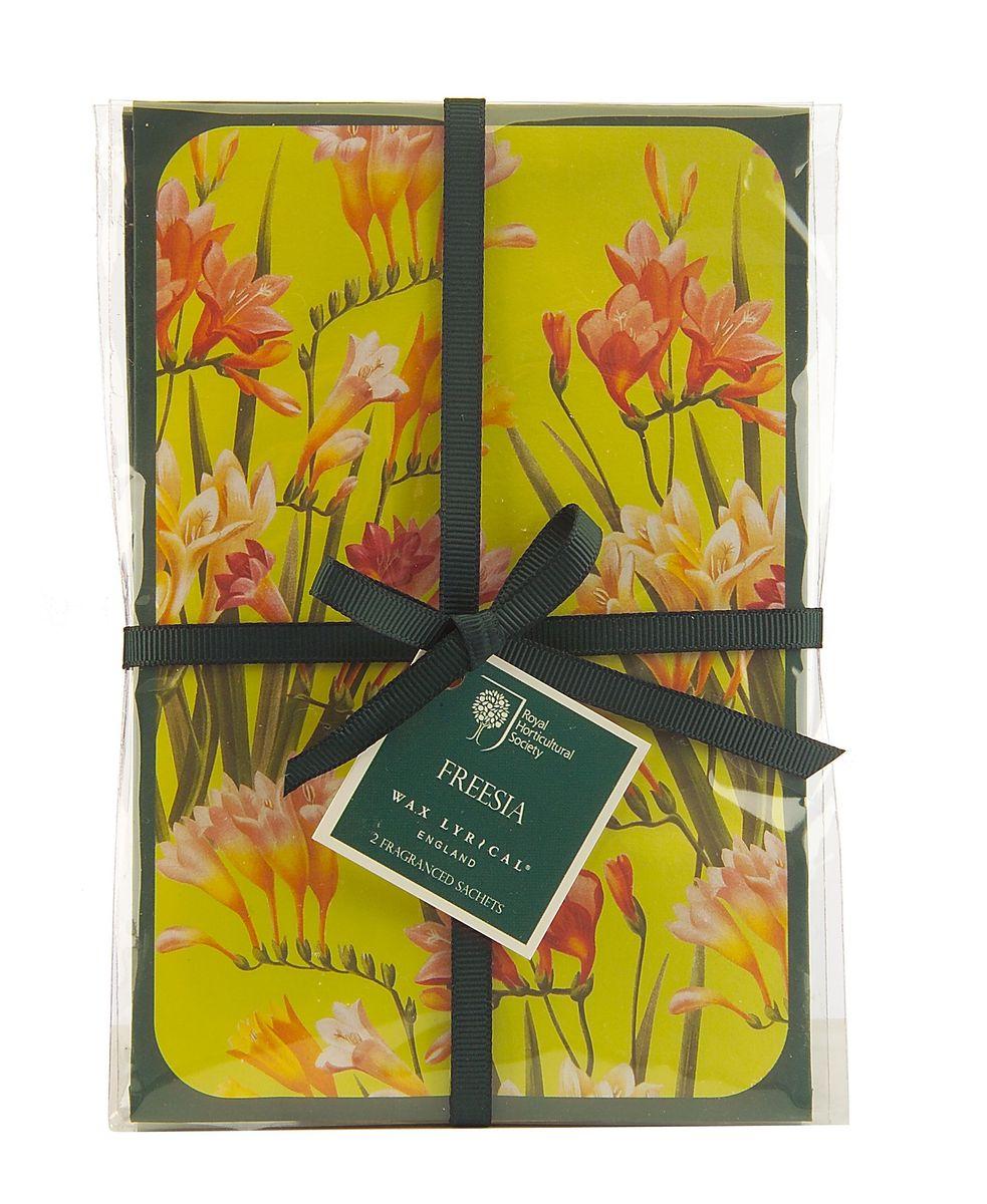 Набор ароматических саше Wax Lyrical Цветущая фрезия, 45 г, 2 шт набор ароматических саше wax lyrical цветущий хлопок 45 г 2 шт
