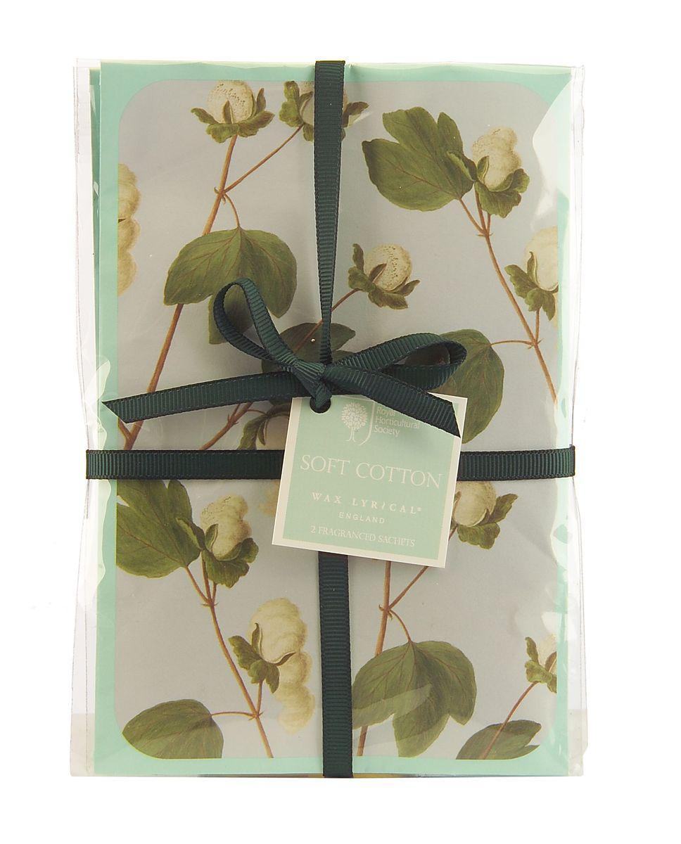 Набор ароматических саше Wax Lyrical Цветущий хлопок, 45 г, 2 шт набор ароматических саше wax lyrical цветущий хлопок 45 г 2 шт