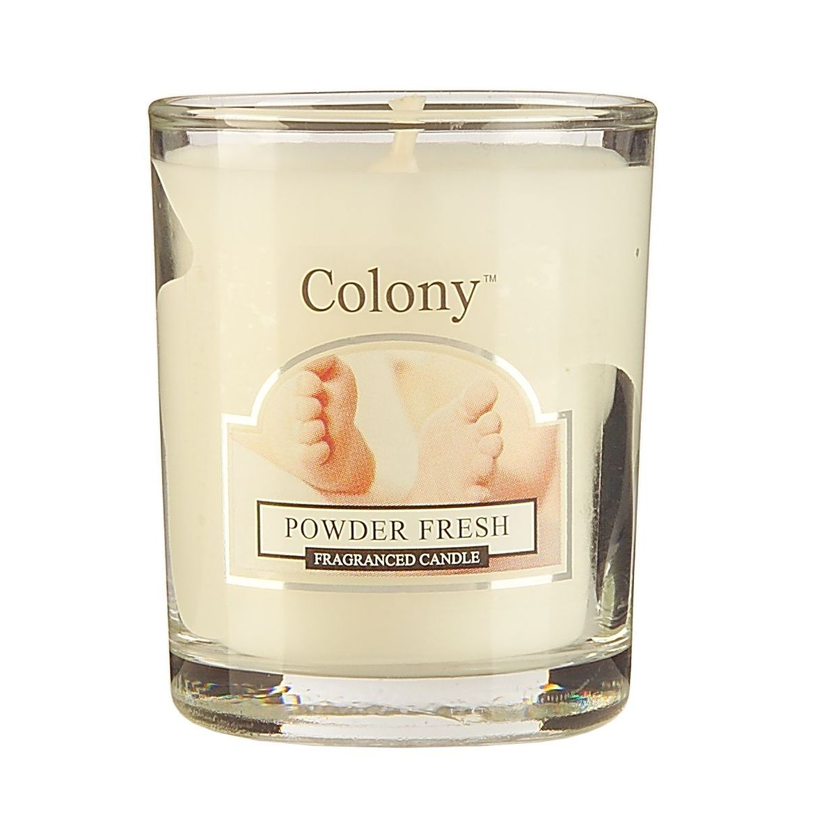 Свеча ароматическая лампадная Wax Lyrical Свежая пудра, 14 часов, 130 г свеча ароматическая лампадная wax lyrical альпийский лес 16 часов горения