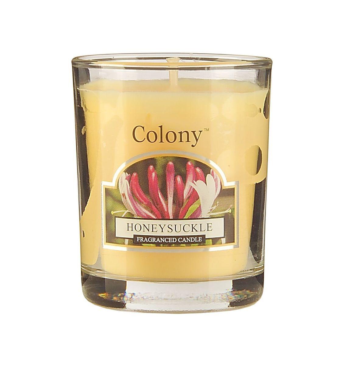 Свеча ароматическая лампадная Wax Lyrical Цветущая жимолость, 14 часов, 130 г свеча ароматическая лампадная wax lyrical альпийский лес 16 часов горения