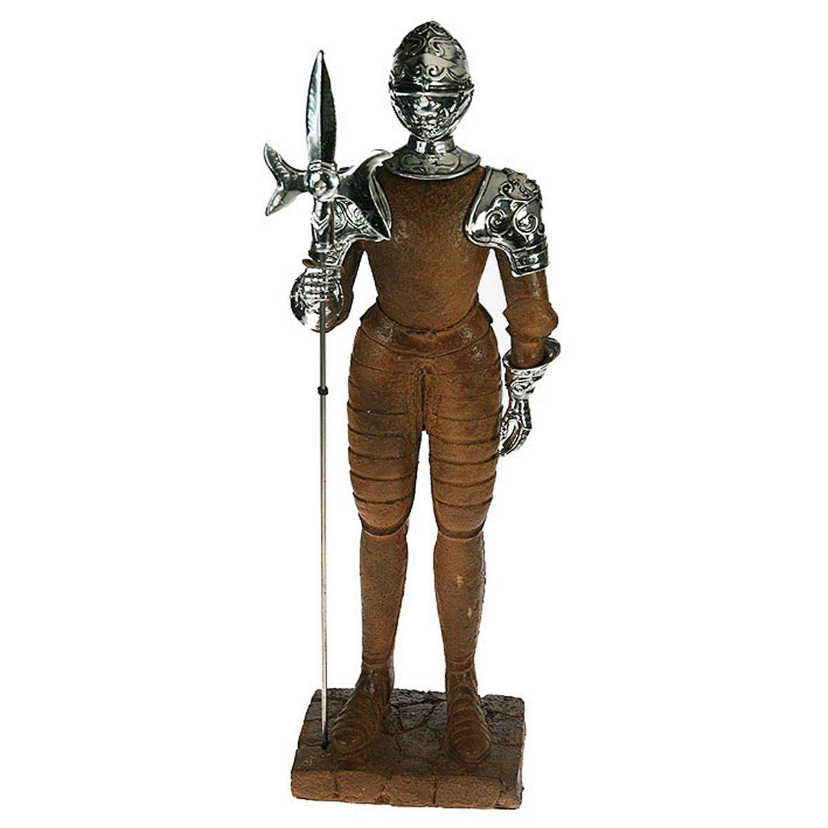 Статуэтка Русские Подарки Рыцарь, 18 х 12 х 54 см цена