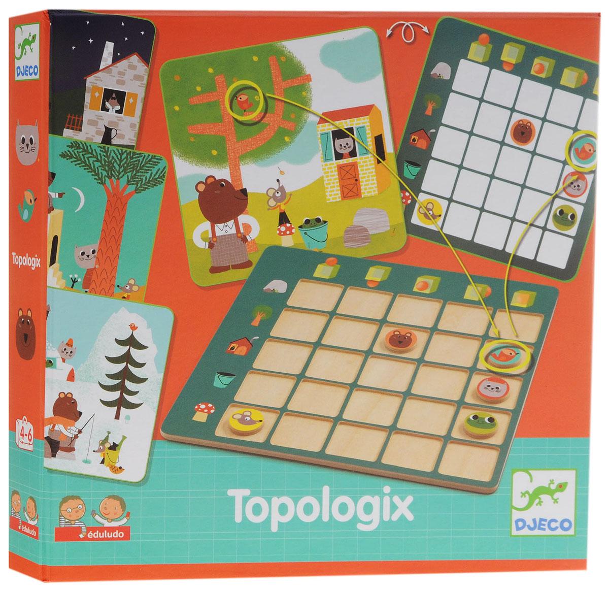 Djeco Обучающая игра Топологик djeco обучающая игра счеты