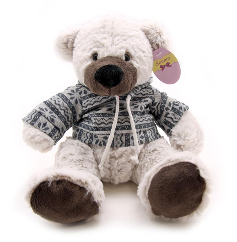 Soomo Мягкая игрушка Медведь Аудун 21 смKA6449-1/8Мягкая игрушка Soomo Медведь Аудун - удивительно мягкая игрушка принесет радость и подарит своему обладателю мгновения нежных объятий и приятных воспоминаний.