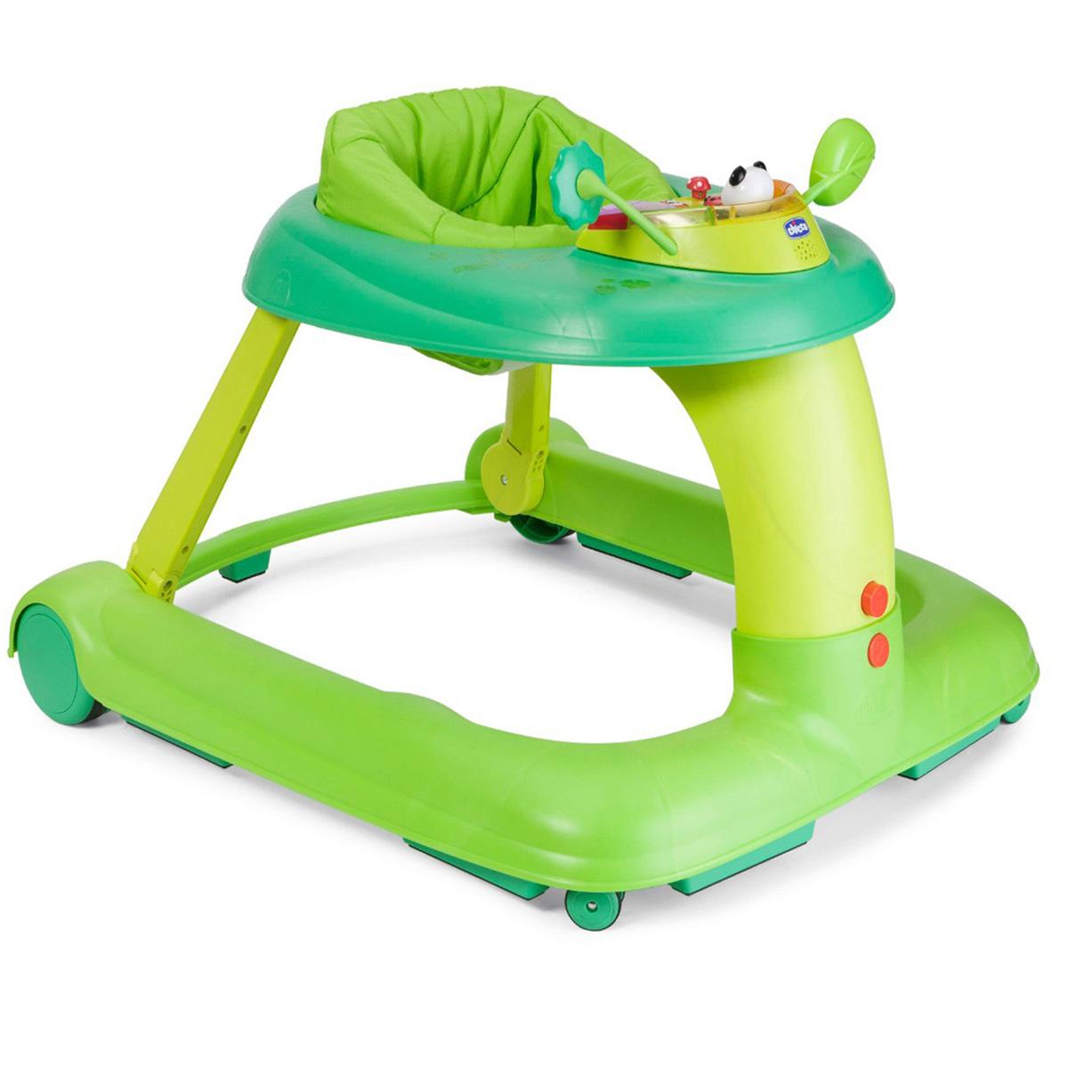 Каталка-ходунки Chicco 123 Baby Walker, цвет: зеленый chicco игровой центр каталка baby walker 2 в 1 chicco