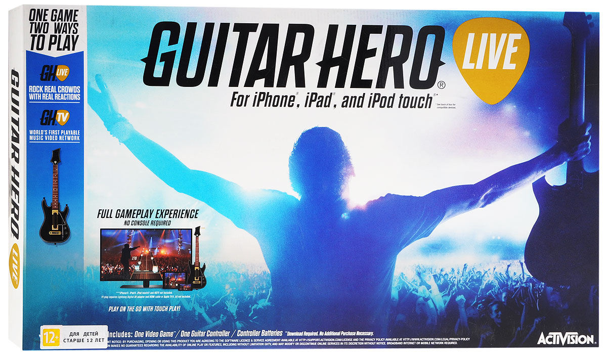 Guitar Hero Live для iPad, iPhone или iPod touch